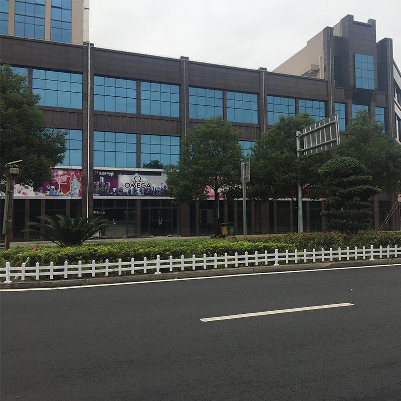 永春南环路PVC草坪护栏