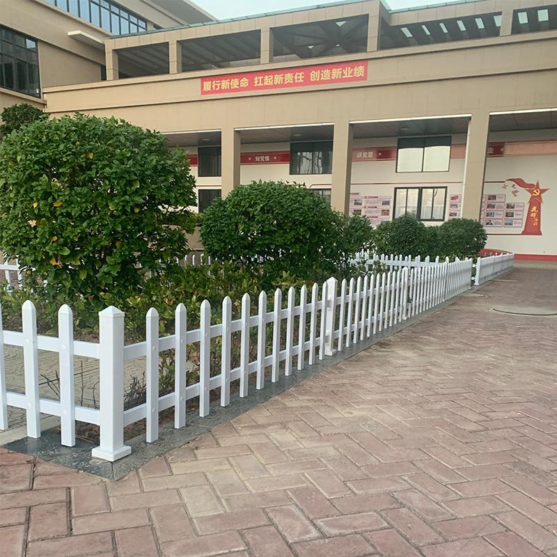 惠安消防支队pvc草坪护栏
