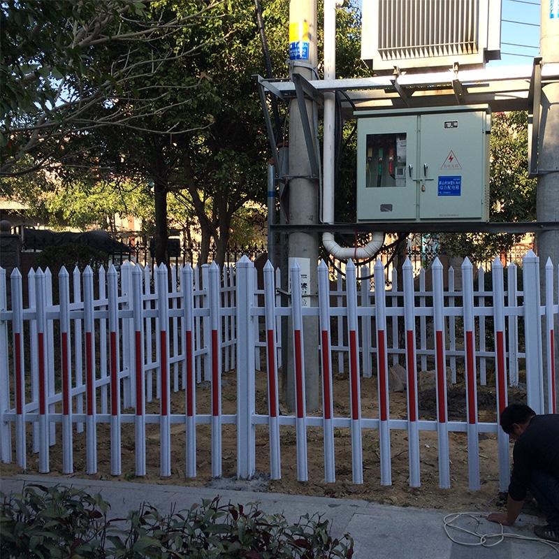 PVC护栏施工