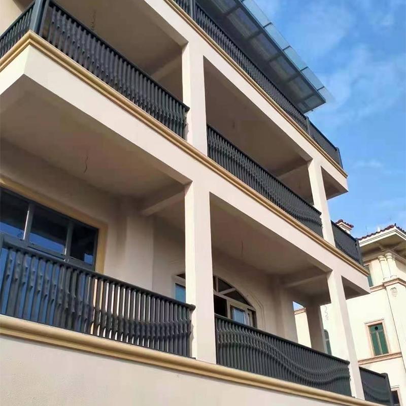 高层住宅阳台栏杆